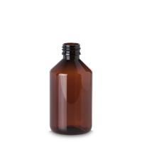 500 ml Pharma Veral - Rundflasche - PET -