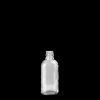 100 ml Meplatflasche - Klarglas - GL 22 Gewinde