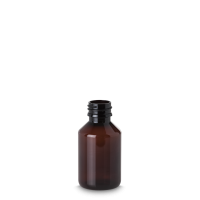 100 ml Pharma Veral - Rundflasche - PET -