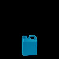 1 Liter Kanisterflasche - blau - DIN 40 Gewinde