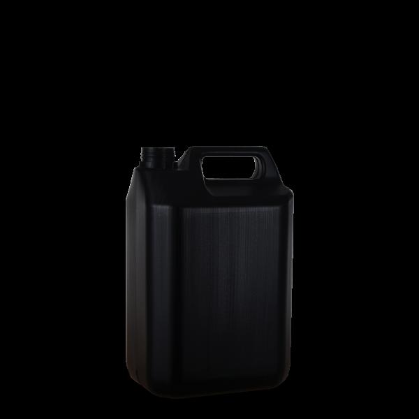5 Liter Kanisterflasche - schwarz - OV 40 Gewinde